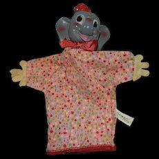 Vintage Gund Dumbo the Elephant Hand Puppet