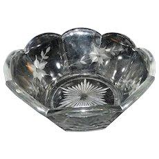 Vintage EAPG McKee Colonial Salad Bowl