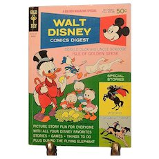 Vintage Walt Disney Comics Digest-