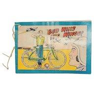 Vintage 1956 AMF Bicycle Comics Book-