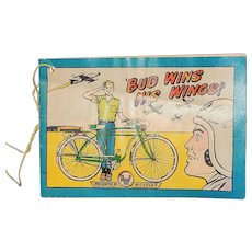 Vintage 1956 AMF Bicycle Comics Book-