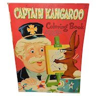 Vintage Captain Kangaroo Coloring Book