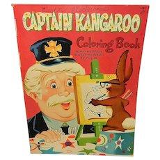 Vintage Captain Kangaroo Coloring Book