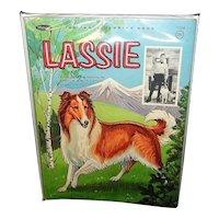 Vintage Lassie Coloring Book