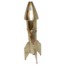 Vintage Guided Missile Coin Bank- - Red Tag Sale Item
