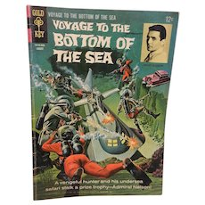 Vintage Silver Age Voyage To The Bottom Of The Sea Comic Book-