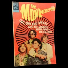 Vintage Silver Age The Monkees Comic Book