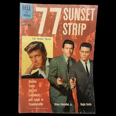 Vintage Silver Age 77 Sunset Strip Comic Book