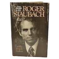 Vintage Hard Cover Book Featuring Dallas Cowboys Hall of Fame Quarterback Roger Staubach