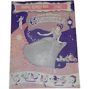 Vintage Walt Disney Music Company Sheet Music