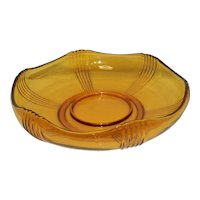 Vintage Mid-Century Chip and Dip Bowl