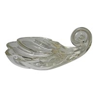 Vintage Glass Shell Candy Dish or Ashtray