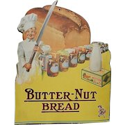 Vintage Butternut Bread Retail Counter Display