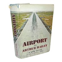 """Vintage First Edition First Printing Book Titled """"Airport"""" by Arthur Hailey"""