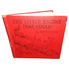 Vintage Children's Hardcover Book the Little Engine That Could