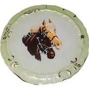 Vintage 1977 Oaklawn Park Horse Racing Porcelain Commemorative Plate