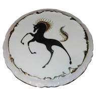 Vintage 1988 Oaklawn Park Horse Racing Porcelain Commemorative Plate