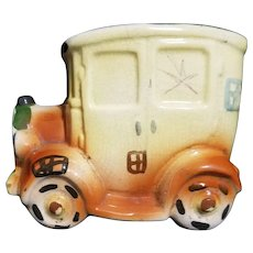 Vintage Ceramic Automobile Coin Bank