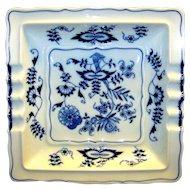 Vintage Blue Danube Porcelain Ashtray