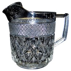 Vintage Imperial Glass Company Cape Cod Pattern Pitcher