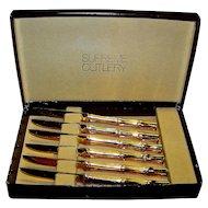 Vintage Sigma Gold Coin Supreme Decorative Cutlery Set