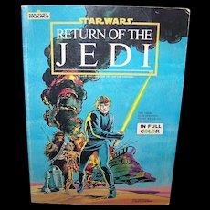 Vintage Marvel Comics Star Wars: Return Of The Jedi Official Comics Version By Stan Lee