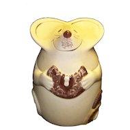 Vintage Los Angeles Pottery Mouse Cookie Jar