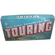Vintage Parker Brothers Touring Card Game