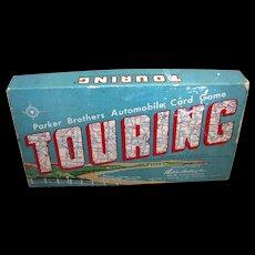 Vintage Parker Brothers Touring Card Game