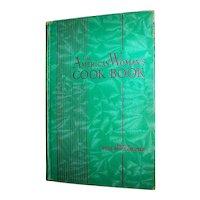 Vintage Hardback Cookbook The American Woman's Cookbook
