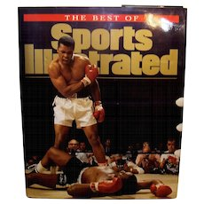 Vintage Hardback Book The Best Of Sports Illustrated