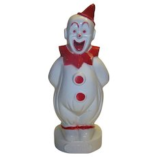 Vintage 1950's Lindex Happy Clown Coin Still Bank