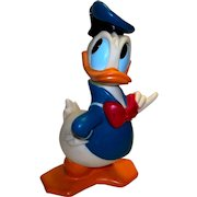 Vintage Illco Toy Company Donald Duck Coin Bank