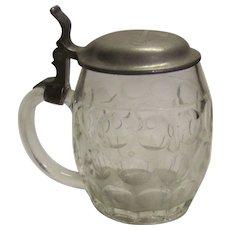Vintage German Glass Stein