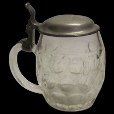 Vintage German Glass Stein