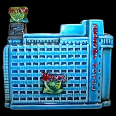 Vintage Ceramic Harvey's Resort Hotel Coin Bank