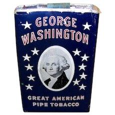 Vintage 1941 George Washington Pipe Smoking Tobacco Package