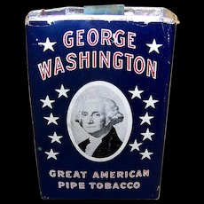 Vintage 1941 George Washington Pipe Smoking Tobacco Package