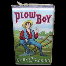 Vintage Plow Boy Chewing & Smoking Tobacco Package