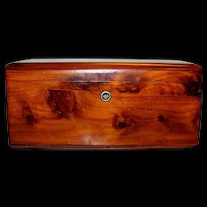 Vintage Lane Cedar Wood Jewelry Box