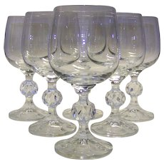 Vintage WMF Set Of Port/Sherry Glasses