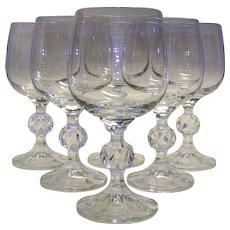 Vintage WMF Set Of Port/Sherry Glasses