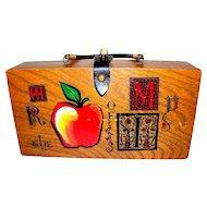 Vintage Box Purse by Enid Collins