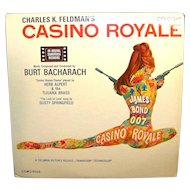 Vintage Burt Bacharach RCA James Bond 007 Movie Record Casino Royale