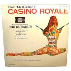 Vintage Burt Bacharach RCA James Bond 007 Movie Record Casino Royale