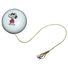 Vintage 1970's Hallmark Snoopy Character Yo-Yo