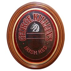 Vintage George Killian's Irish Red Ale Advertising Sign