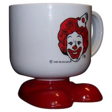 Vintage 1985 McDonald's Happy Birthday Cup