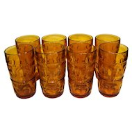 Vintage Indiana Glass Company Colony Kings Crown Tumbler Set