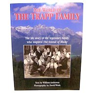 Vintage First Printing Autographed Trapp Family Life Story Book
